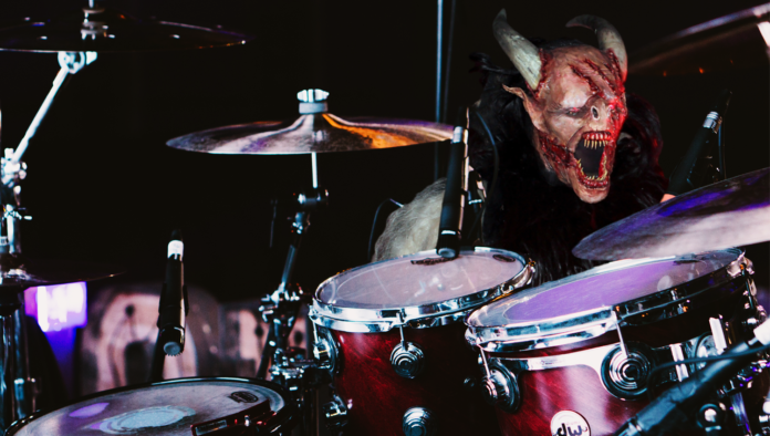 Demon Appears On Stage As Drum Set Introduced Dmg News